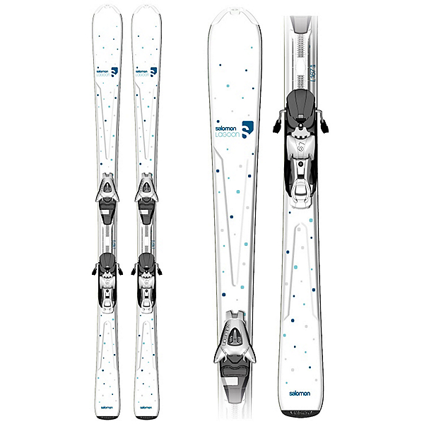 Origins Lagoon Womens Skis with L9 B80 Bindings