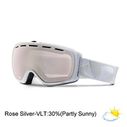 Giro Basis Goggles, White Icon-Rose Silver, 256