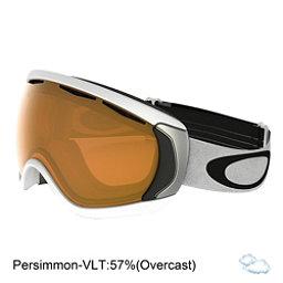 Oakley Canopy Goggles, Matte White-Persimmon, 256