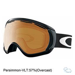 Oakley Canopy Goggles, Matte Black-Persimmon, 256