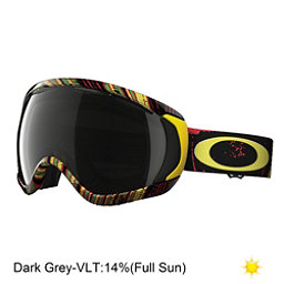 Oakley Canopy Goggles, Stumped Rasta-Dark Grey, 256
