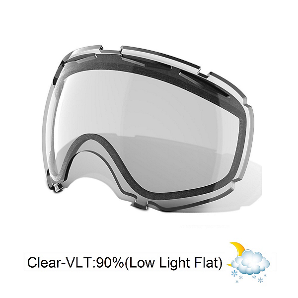 Oakley Canopy Goggle Replacement Lens 2021, Clear, 600