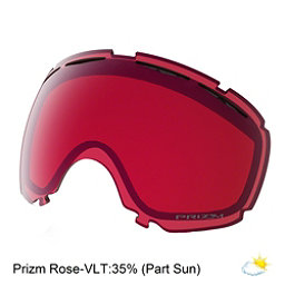 Oakley Canopy Goggle Replacement Lens, Prizm Rose, 256