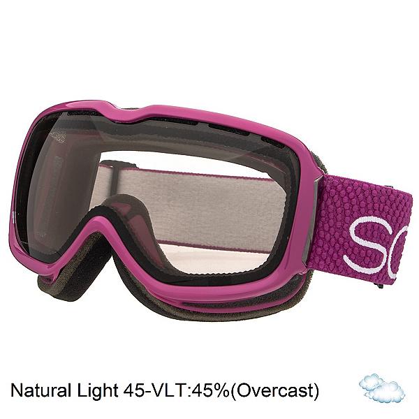 Scott Aura Womens Goggles, Purple-Natural Lens 45, 600