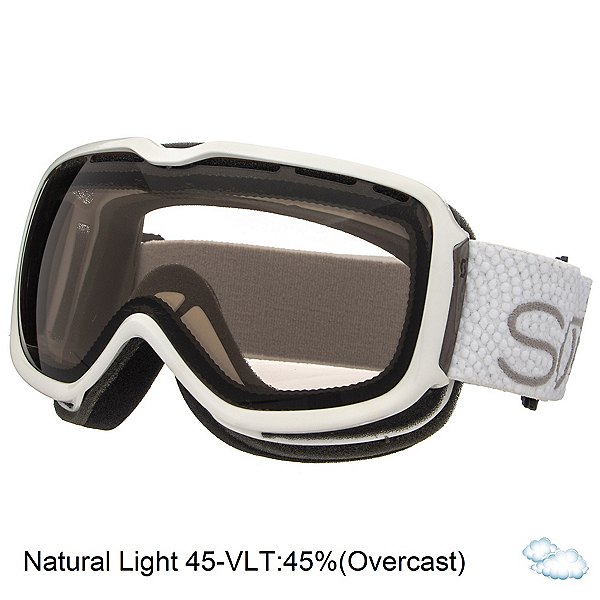 Scott Aura Womens Goggles, White-Natural Lens 45, 600