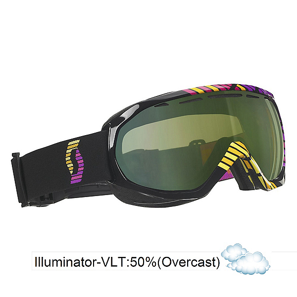 Scott Notice OTG Goggles, Black-Illuminator 50, 600