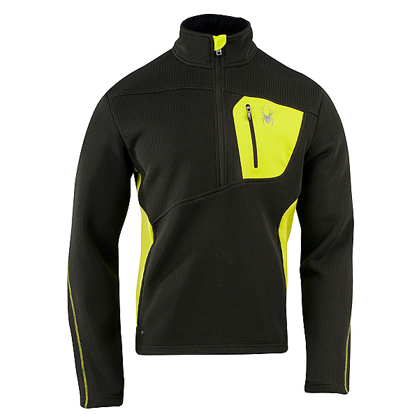 Spyder Core Linear Half Zip Mens Sweater, , 600