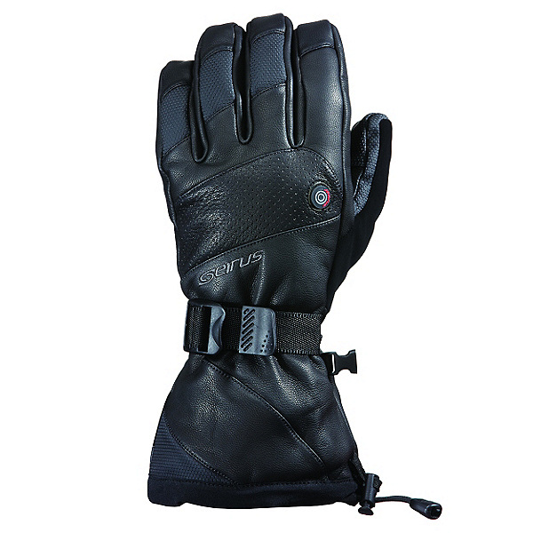 Seirus Heat Touch Inferno Mens Heated Gloves and Mittens, Black, 600