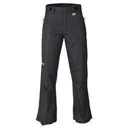 Marker Gillette Waist Mens Ski Pants, Black, 256
