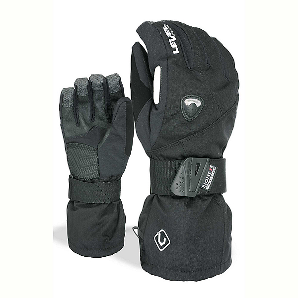 Level Fly Gloves, Black, 600