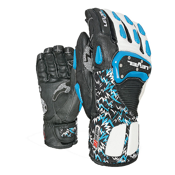 Level SQ CF Ski Racing Gloves, Royal, 600