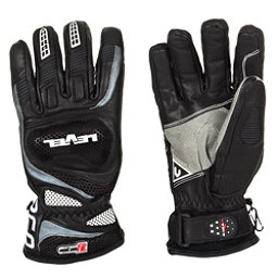 Level Race CF Ski Racing Gloves, Black, 256