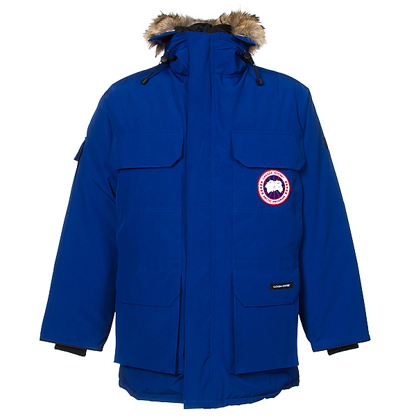 Canada Goose Expedition Parka Mens Jacket, Pacific Blue, 600
