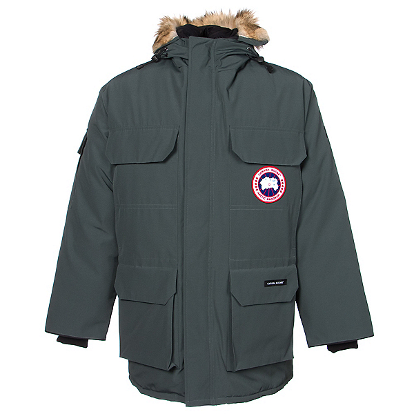 Canada Goose Expedition Parka Mens Jacket, Slate, 600