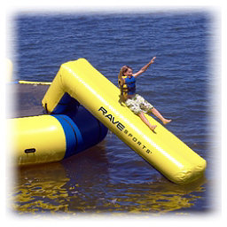 Rave Aqua Slide Large Water Trampoline Attachment, , 256