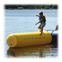 Rave Aqua Log Small Water Trampoline Attachment, , 256