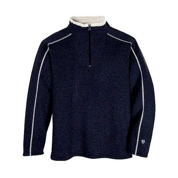 KUHL Europa 1/4 Zip Mens Mid Layer, Mutiny Blue, 600