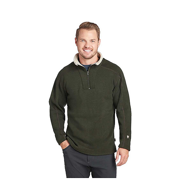 KUHL Europa 1/4 Zip Mens Mid Layer, Loden, 600