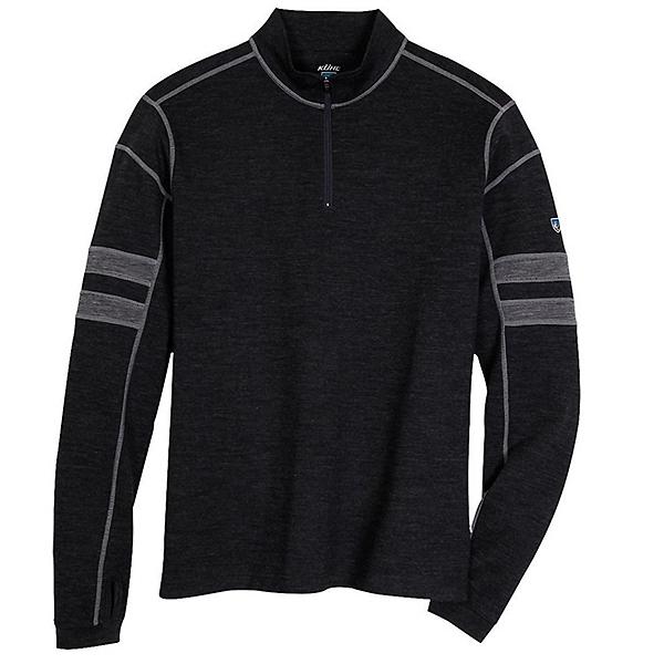 KUHL Team 1/4 Zip Mens Sweater, Smoke, 600