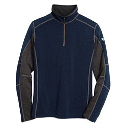 KUHL Revel 1/4 Zip Mens Sweater, Navy-Steel, 256