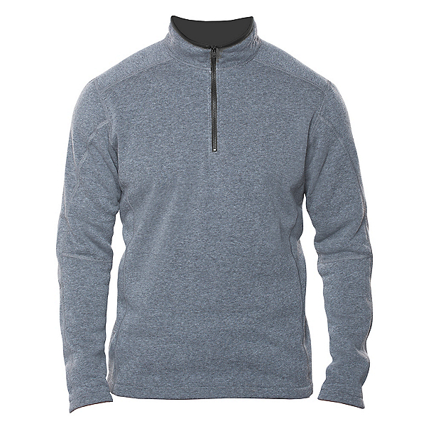 KUHL Revel 1/4 Zip Mens Sweater, Shale, 600