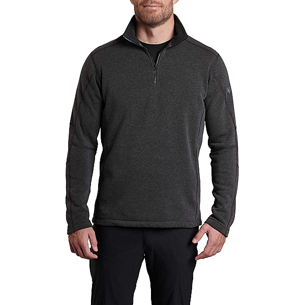KUHL Revel 1/4 Zip Mens Sweater, Steel, 600