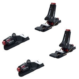 Knee Binding Carbon Wide Brake Ski Bindings, Black, 256