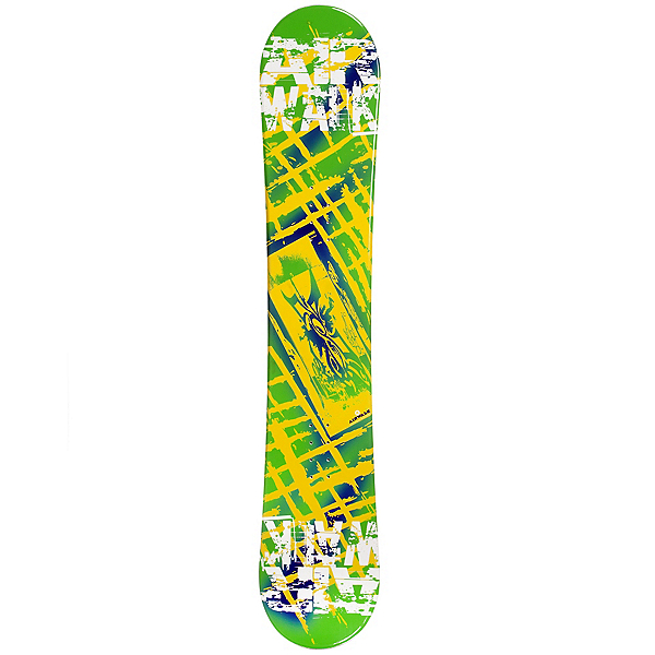 Airwalk Kona Yellow Snowboard, , 600