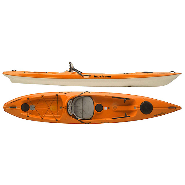 Hurricane Skimmer 128 Sit On Top Kayak 2018, , 600