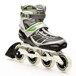 Rollerblade Tempest 90 Womens Inline Skates, Silver-Green, 256
