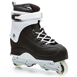 Rollerblade Swindler Aggressive Skates, Black-White, 256