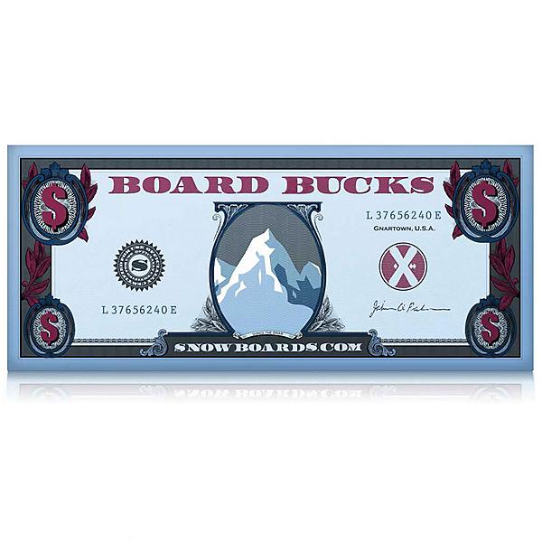 $50 Board Bucks, , 600