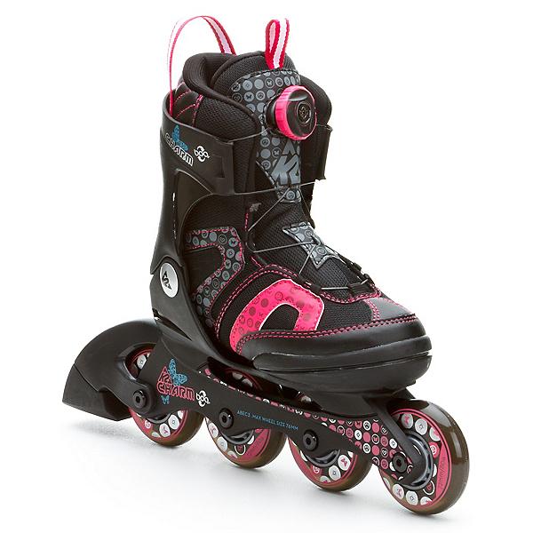K2 Charm Boa Adjustable Girls Inline Skates, , 600