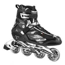 Roces S 255 Inline Skates, Black-Silver, 256