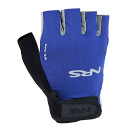 NRS Boaters Paddling Gloves 2018, Blue-Black, 256