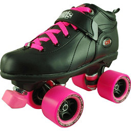 RC Mr Pink Girls Derby Roller Skates, , 256
