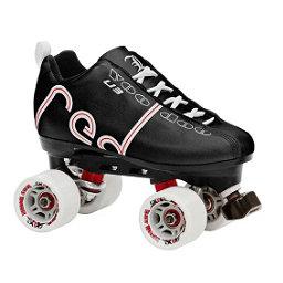 Labeda Voodoo Derby Roller Skates, Black, 256