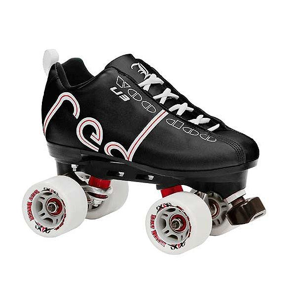 Labeda Voodoo Derby Roller Skates, Black, 600