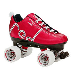 Labeda Voodoo Derby Roller Skates, Red, 256