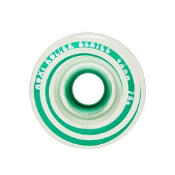 Riedell Moxi Gummy Wheels Roller Skate Wheels - 4 Pack, Seafoam, 256