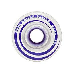 Riedell Moxi Gummy Wheels Roller Skate Wheels - 4 Pack, Taffy, 256