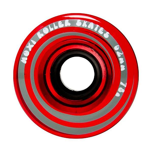 Riedell Moxi Juicy Roller Skate Wheels - 4 Pack, , 600