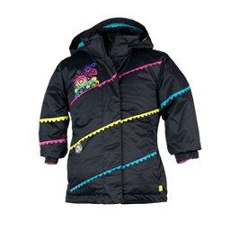 Obermeyer Zen Toddler Girls Ski Jacket, Black, 256
