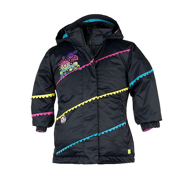 Obermeyer Zen Toddler Girls Ski Jacket, Black, 600