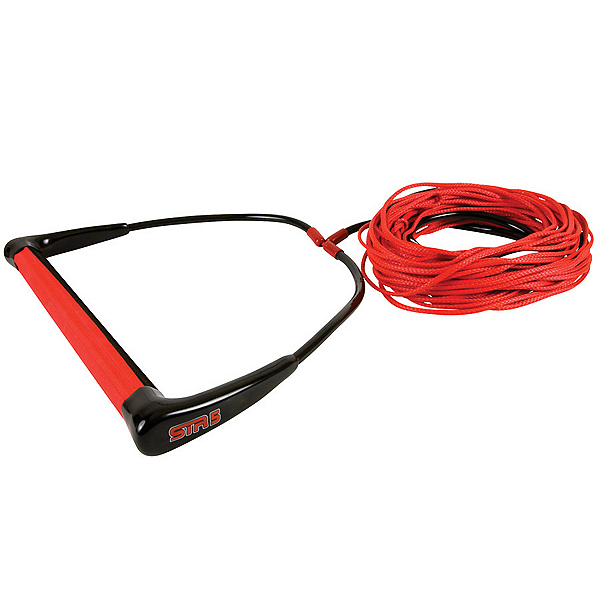 Straight Line STR-5 with Dyneema Wakeboard Rope, Red, 600