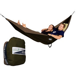 ENO Double Nest with Insect Shield Hammock, Khaki-Olive, 256