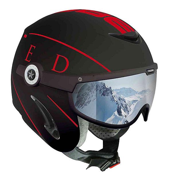 OSBE United Helmet, Black-Red, 600