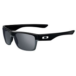 Oakley TwoFace Sunglasses, Polished Black-Black Iridium, 256