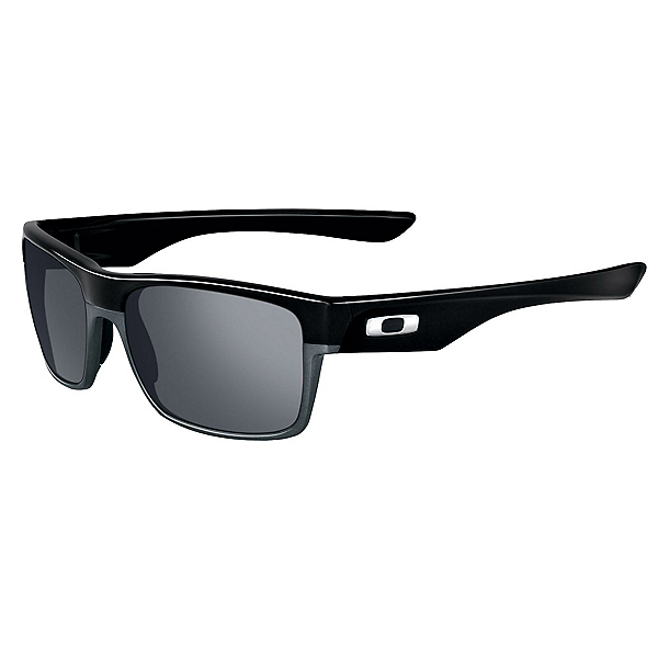 Oakley TwoFace Sunglasses, Polished Black-Black Iridium, 600