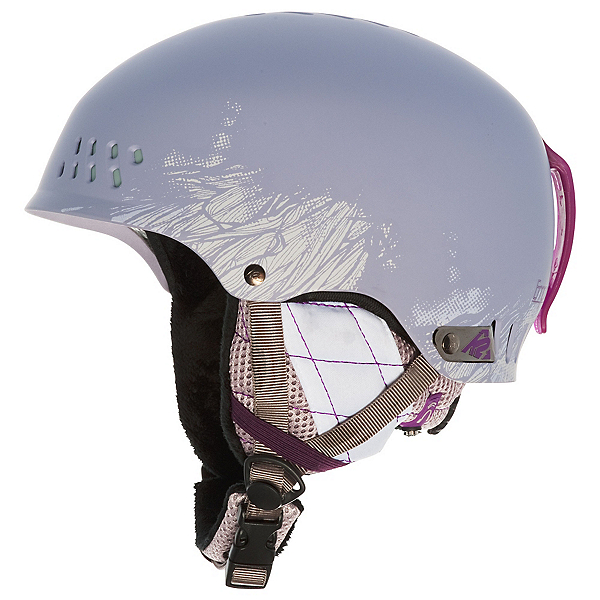K2 Emphasis Audio Helmets, Plum Gray, 600